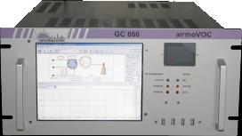 Heavy Volatile Hydrocarbons analyzer airmoVOC C6C12