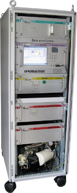 Ozone precursors (PAMS 56) and Toxics monitoring with airmOzone